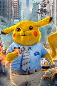 2160x3840 Pikachu Free Guy