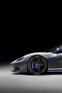 320x568 Pininfarina Battista Anniversario 2020 Side View