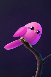 1080x2160 Pink Birb