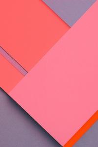 Pink Blue Geometry