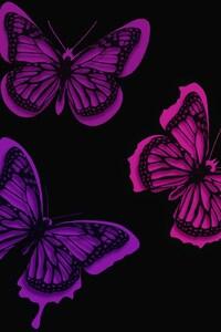 Pink Butterflies Artistic