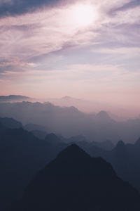 Pink Sky Mountains 5k