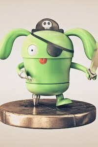 480x854 Pirate Android