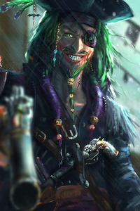 240x320 Pirate Joker 4k