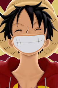 540x960 Pirate Monkey D Luffy From One Piece 5k