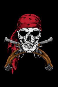 Pirate Skull 4k