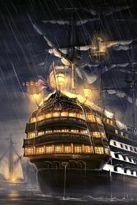 Pirates Of The Caribbean Ship Artwork