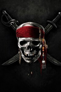 1080x2160 Pirates OF The Caribbean Skull