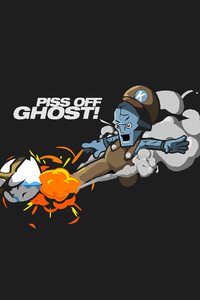 1440x2560 Piss Off Ghost