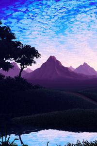 1080x2280 Pixel Landscape