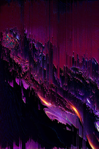 800x1280 Pixel Sorting Art