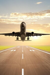 540x960 Plane Taking Off