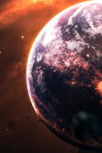 320x480 Planet Acceleration 4k
