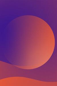Planet Mars Minimalism 5k