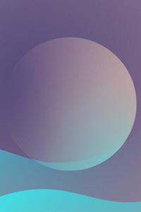 Planet Neptune Minimalism 5k