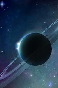 Planet Solar Space Art 4k