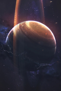 Planet Space Art 4k