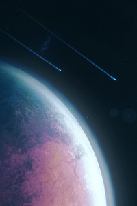 Planet Space Scifi 4k