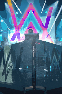 480x800 Play It Dj Alan Walker 4k