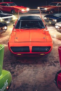 Plymouth Superbird Dodge Charger Daytona 4k