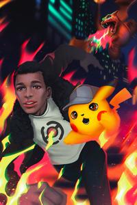 Pokemon Detective Pikachu 4k Art