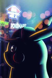 240x400 Pokemon Detective Pikachu