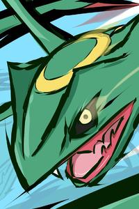 640x960 Pokemon Rayquaza