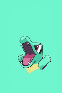 Pokemon Totodile Minimalism