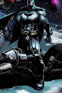 Police Chasing Batman Batmobile
