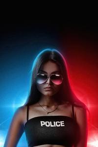 640x960 Police Girl