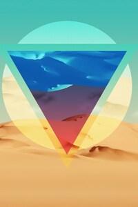 Polygon Triangle Artwork