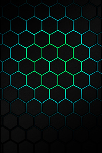 1280x2120 Polygon Web Green 5k