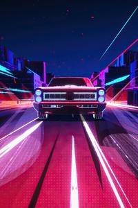 720x1280 Pontiac Gto Evening Ride 4k
