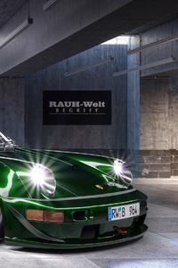 Porsche 4k 2019 Car