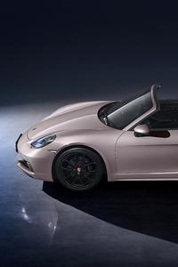 1080x2280 Porsche 718 Spyder 2021