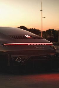 320x568 Porsche 911 992 R 4k