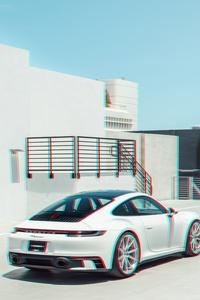 Porsche 911 Carrera 3d 8k