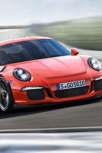 1242x2688 Porsche 911 Carrera GT3 RS