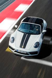 320x480 Porsche 911 Carrera Gts Cabriolet 5k