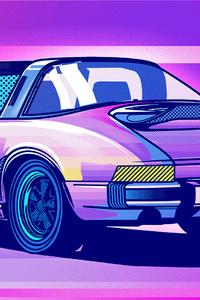 Porsche 911 Classic Illustration