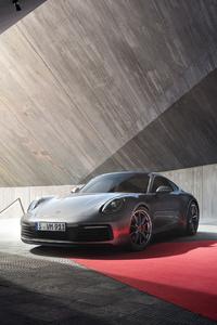 1125x2436 Porsche 911 Front 4k