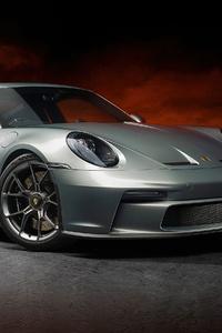 1280x2120 Porsche 911 Gt3 70 Years Edition 4k