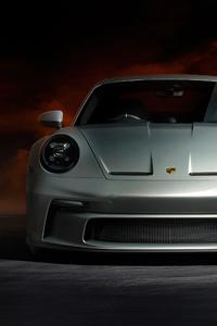 1280x2120 Porsche 911 Gt3 70 Years Edition 5k
