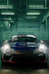 640x960 Porsche 911 Gt3 Cup 4k
