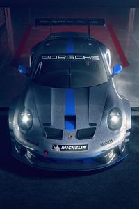750x1334 Porsche 911 GT3 Cup 992 5k