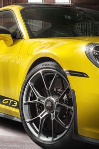 480x800 Porsche 911 GT3 Exclusive 4k