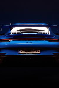 2160x3840 Porsche 911 GT3 Rear 5k