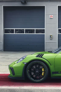 Porsche 911 GT3 RS 2018 Side View
