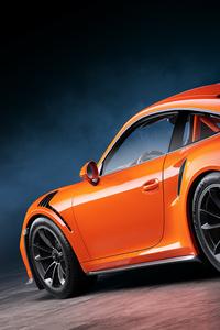 Porsche 911 GT3 Rs Rear Cgi