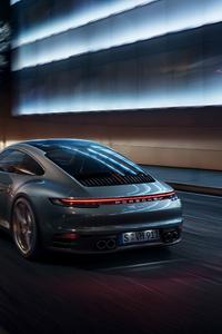 1125x2436 Porsche 911 Rear 4k